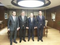 BEYCUMA - Çaturoğlu, Çağatay Kılıç İle Spor Yatırımlarını Görüştü