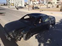 Karaman'da Otomobil Takla Attı Açıklaması 1 Yaralı