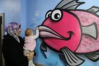 Kanserli Minikler İçin Hastane Duvarlarına Graffiti Yaptılar