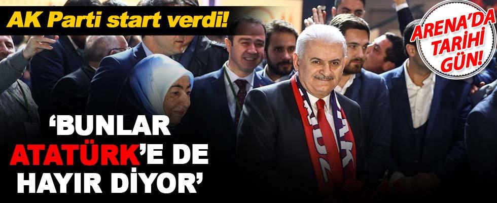 AK Parti referandum için start verdi!