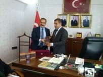 GENEL SEKRETER - Rektör Gür Gaziantep MHP'ni Ziyaret Etti