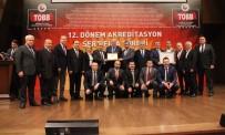 AKREDITASYON - Safranbolu TSO C Sınıfı TOBB Akreditasyon Belgesini Aldı
