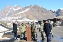 BÜNYAMİN KUŞ - Üst Bölgesindeki Askeri Birlikler Ziyaret Edildi