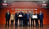 AKREDITASYON - AYSO  Akreditasyon Sertifikası İle 5 Yıldız Kapsamına Girmeye Hak Kazandı