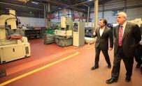 MAKİNE FABRİKASI - Başkan Karaosmanoğlu, Fabrika Yöneticileri Ve Çalışanlarını Ziyaret Etti