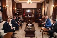 SAMIMIYET - Başkan Kocamaz'dan Başkan Sözlü'ye Ziyaret