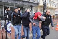 KAPICI DAİRESİ - İstanbul'dan Getirilen Uyuşturucu Haplarla Yakalandılar