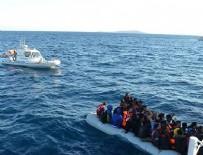 EGE DENIZI - Bir haftada 135 yabancı uyruklu yakalandı