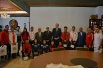 NEVŞEHİR BELEDİYESİ - Başarılar Sporcular Ünver'i Ziyaret Etti