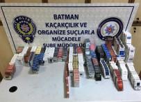 Batman'da 15 Bin 328 Paket Kaçak Sigara Ele Geçirildi