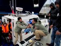 SIĞINMACI - Çeşme'de 50 Sığınmacı Yakalandı