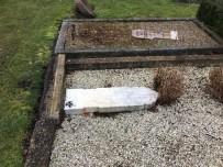 KOPENHAG - Danimarka'da Müslüman Mezarlarına Çirkin Saldırı
