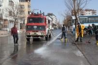 SEYRANI - Develi'de Cadde Ve Yolların Temizlenmesi Tüm Hızıyla Devam Ediyor