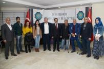 TİYATRO OYUNU - Güneydoğu Engelli Hakları Derneği'nden Başkan Atilla'ya Ziyaret