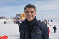 NEMRUT DAĞI - Kaymakam Özkan'dan Nemrut Kayak Merkezine Ziyaret
