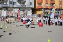 ŞEHITKAMIL BELEDIYESI - Öğrenciler Beceri Parkurlarında Eğlenerek, Spor Yapıyor