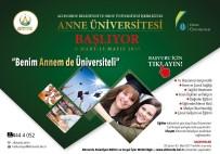 ANNE ADAYLARI - Ordu'da 'Anne Üniversitesi' Başlıyor