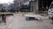 BÜYÜKDERE - Şişli'de Kilolarca Ağırlığındaki Kepenk Devrildi Açıklaması 1 Yaralı