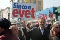 SIYAH ÇELENK - 28 Şubat Sincan'da Protesto Edildi