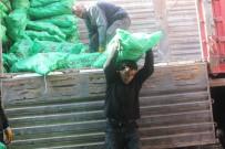 SIBIRYA - Ağrı'da Kömür Boşaltan İşçilerin Ekmek Mücadelesi