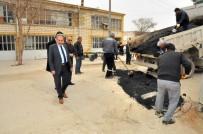 SU ARITMA TESİSİ - Akşehir'de Yollardaki Onarım Ve Tadilat Çalışmaları Sürüyor