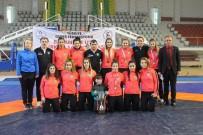 Altınova Bayan Güreşinde Zirvede