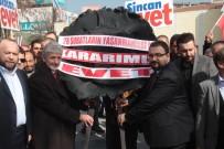 SIYAH ÇELENK - Ankara'da '28 Şubat' Protestosu