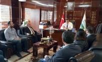 İSLAMOĞLU - ATSO 24. Grup Meslek Komitesi'nden Akdeniz CLK'ya Ziyaret