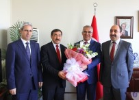Başkan Barakazi'ye Sivil Savunma Günü Ziyareti