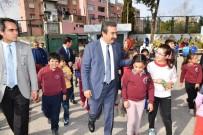 ÖLÜMSÜZ - Çetin, Atatürk Büstünün Açılışını Yaptı