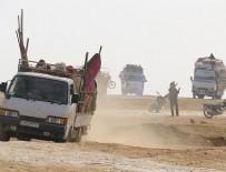 CANLI KALKAN - DEAŞ ve Esed rejiminden kaçan aileler muhaliflere sığınıyor