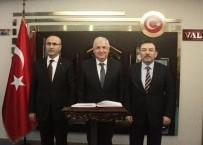 ADANA VALİSİ - Emniyet Genel Müdürü Ve Jandarma Genel Komutanı Adana'da