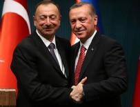 AZERBAYCAN CUMHURBAŞKANI - Erdoğan, Aliyev ile görüştü