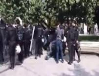KARŞIT GÖRÜŞLÜ ÖĞRENCİLER - İstanbul Üniversitesi'nde gerginlik