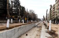 ÖZGÜR ÖZDEMİR - Kanalboyu 2. Etapta Üst Yapı Çalışmaları Başladı