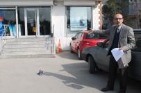 SOYGUN - Kızgın Müşteri Bankaya  POS Cihazı Fırlattı