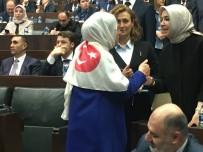 RAVZA KAVAKÇI KAN - Milletvekilinden Türk Bayraklı Mesaj