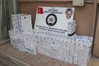 BEŞPıNAR - Polis Ekipleri Kaçak Sigaraya Geçit Vermiyor