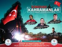 'Tecrübe Konuşuyor Kahramanlar' Programı Sinop'ta