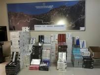 Yalova'da 9 Bin Paket Kaçak Sigara Ele Geçirildi