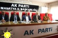 MUSTAFA ŞAHİN - AK Parti Malatya Milletvekili Mustafa Şahin,