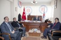 AK Partili Fırat'tan Rektör Pakiş'e Ziyaret