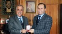 BİLİM ADAMI - Amasya Valisi Salih Işık, Rektör Çomaklı'yı Ziyaret Etti