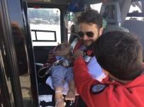 AMBULANS HELİKOPTER - Ambulans Helikopterler 2 Yaşındaki Kız Çocuğu İçin Havalandı