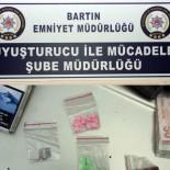 BARTIN EMNİYET MÜDÜRLÜĞÜ - Bartın'da 19 Adet Uyuşturucu Hap Ele Geçirildi