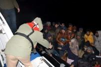 KAÇAK GÖÇMEN - Bodrum'da 56 Kaçak Göçmen Yakalandı