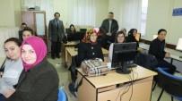Burhaniye' De Bilgisayar Kullanım Kursu