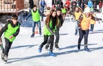 BUZ PATENİ - Büyükşehir'den Buz Pateni Eğitimi