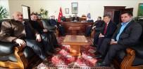 Çıldır AK Parti'den Rektör Biber'e Hayırlı Olsun Ziyareti