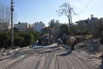 KUMKUYU - Erdemli'de Parke Yol Çalışmaları Devam Ediyor
